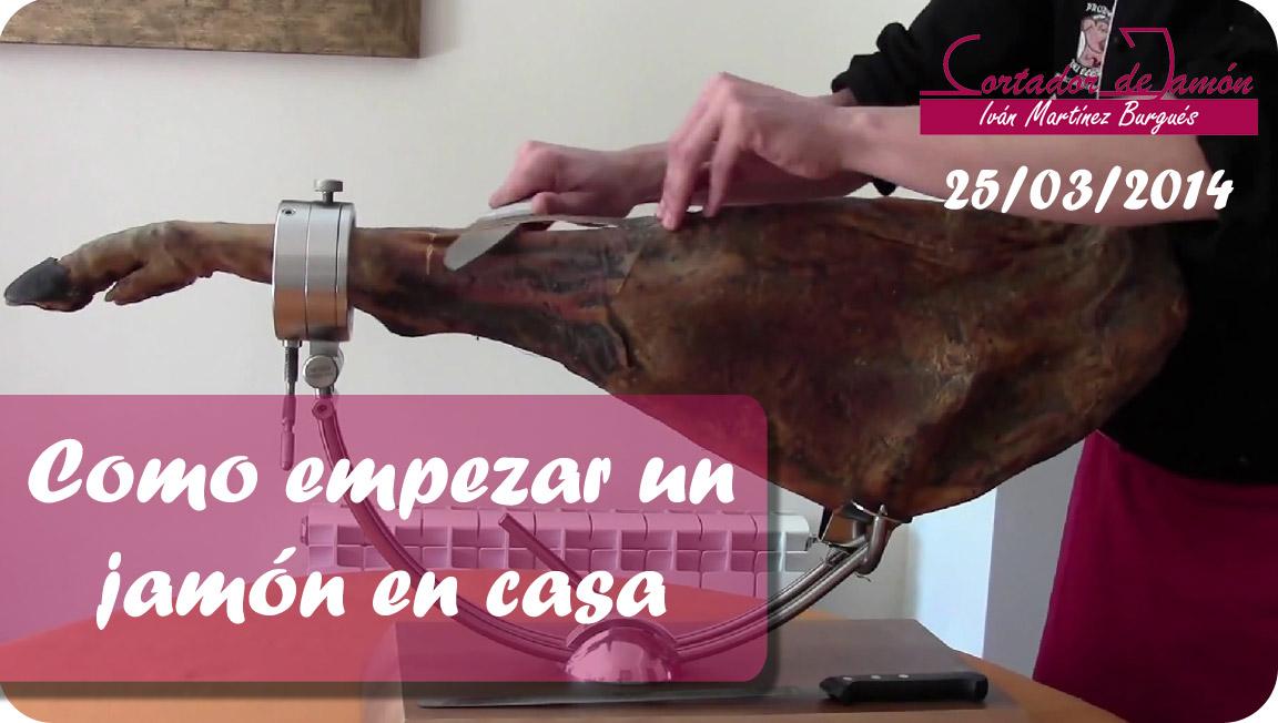 Cortador de jamón Zaragoza y Teruel