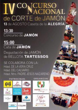 IV Concurso Nacional de Cortadores de jamón El Coronil