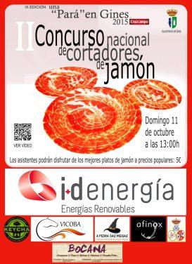 El Concurso de Cortadores de Jamón volverá a poner el mejor sabor a Una Pará en Gines