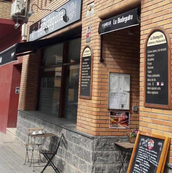 Nuevo taller corte de paleta DO Teruel en La Bodeguita de Caspe