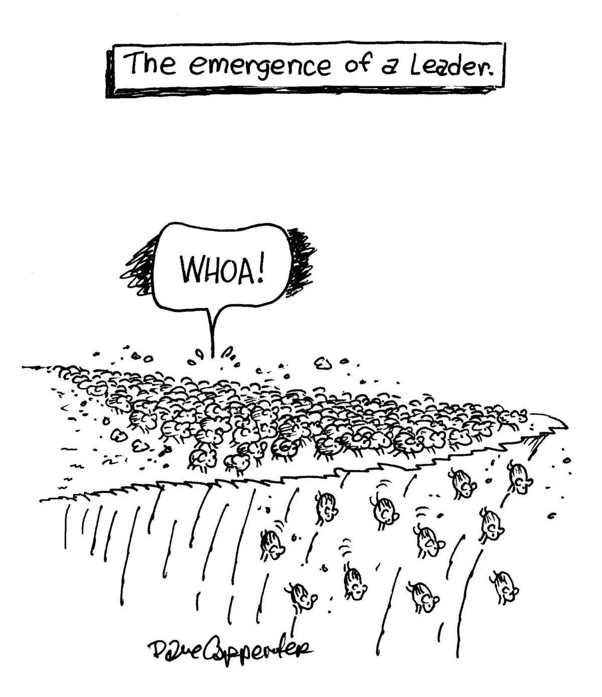 Lemmings in the Conference Room: How Group Think Shapes