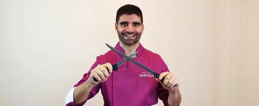 Cuchillos para cortar jamón en casa