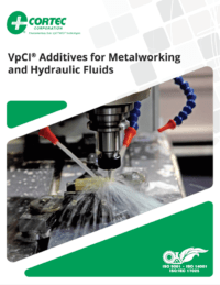 VpCI Additives Metalworking Brochure Cover