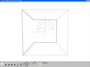 Visualization of electrode position data.