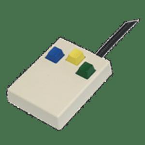 Lumina Three Button Response Pad