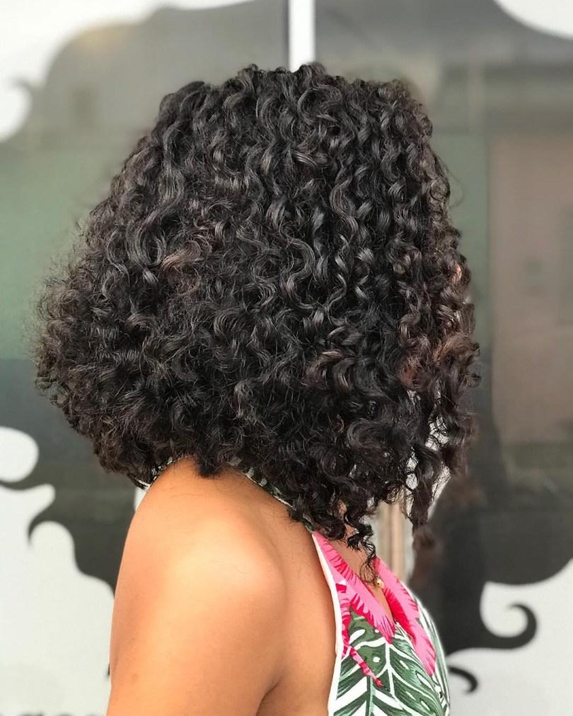 Cortes de cabelos cacheados 2022 long bob