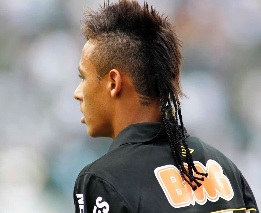 Travesia de estilos de pelo de Neymar  Cortes de pelo