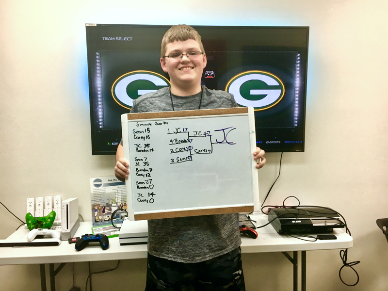 Cortex CoGaming Center | Fuquay-Varina, NC | Madden Tournament Winner, JC
