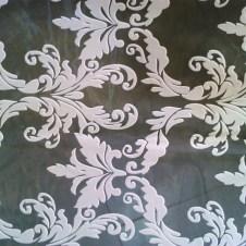 Visillos blancos dibujos Comersan organza y batista perforada diseño medallón clásico
