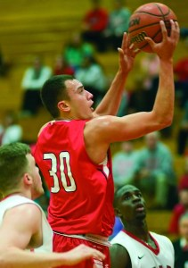 Joe McIntyre/staff photographer SUNY Cortland's James Morales (30) is expected to be in the starting lineup when the season opens Friday.