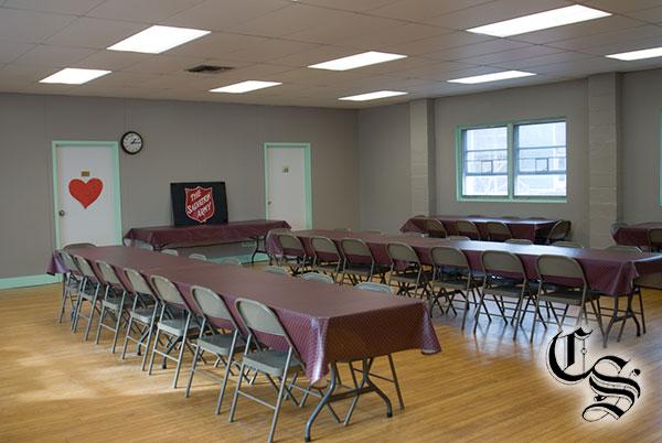 Salvation Army warming center