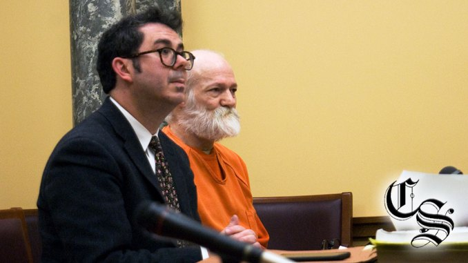 Courtroom photo of Raymond Cole Jr.