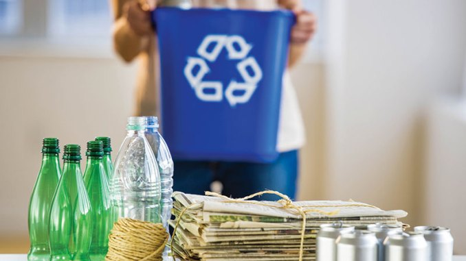 stock image of recycling