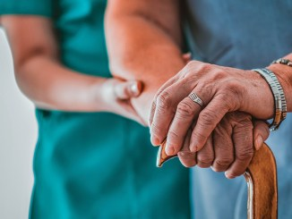 Assisted Living/Nursing Home Stock Image