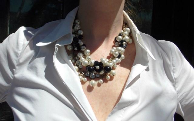Skirt - ASOS Blouse: BCBG Heels: Kate Spade NY Purse: Louis Vuitton Sunglasses: UnionBay Jewelry: Bealles