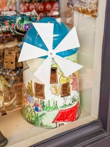 Whimsical windmills, Solvang, CA