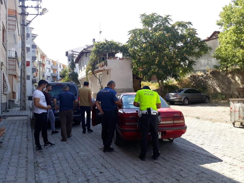 Sungurlu'da trafik kazası, 1 yaralı