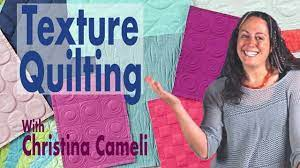 textured quilting samples