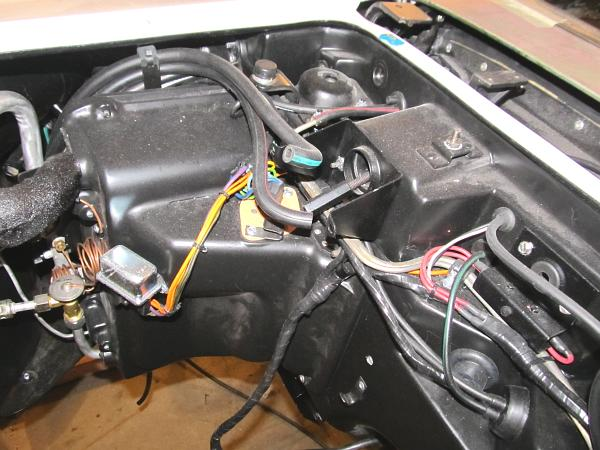 Corvette Engine Wiring Harness With Air Conditioning 19641965