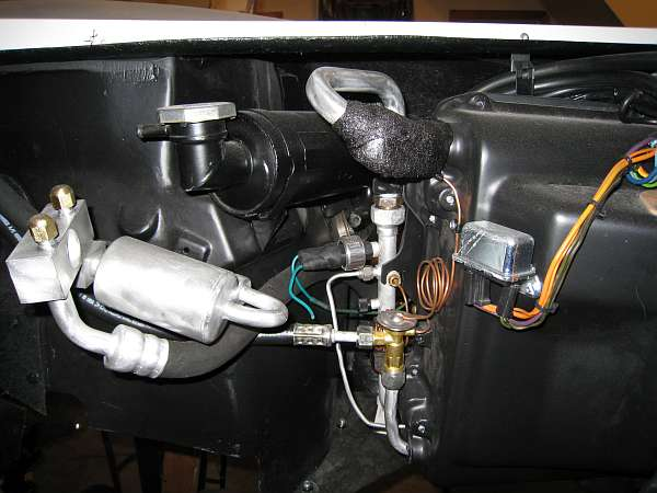 Vacuum Diagram Updating Air Conditioning From R12 To R134a The Corvette