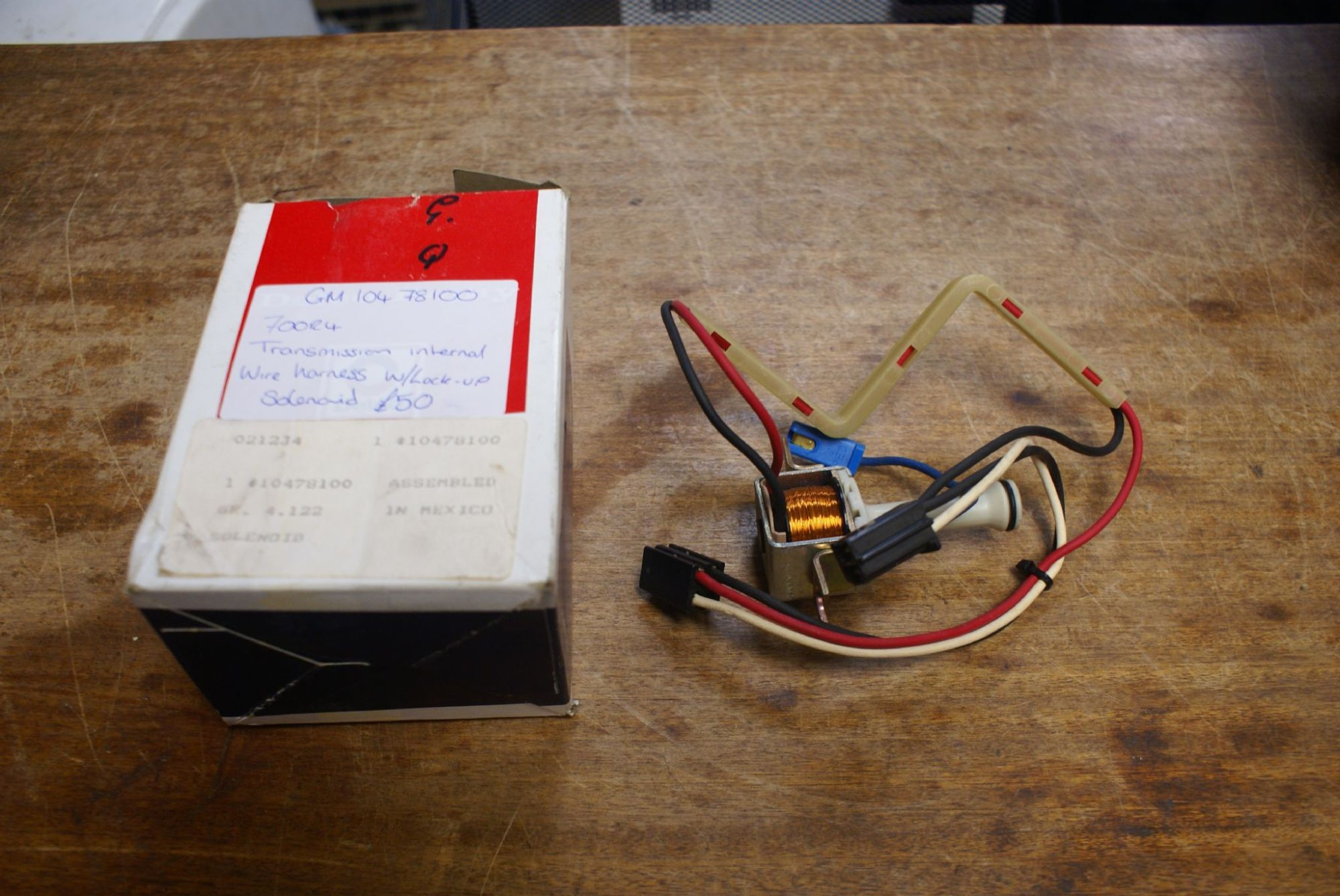 hight resolution of 1982 1993 c4 corvette 700r4 transmission internal wire harness w lock up solenoid gm 10478100 new