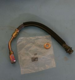 1998 1992 c4 chevrolet corvette brake hydraulic pg hose rear right new box c [ 1920 x 1280 Pixel ]
