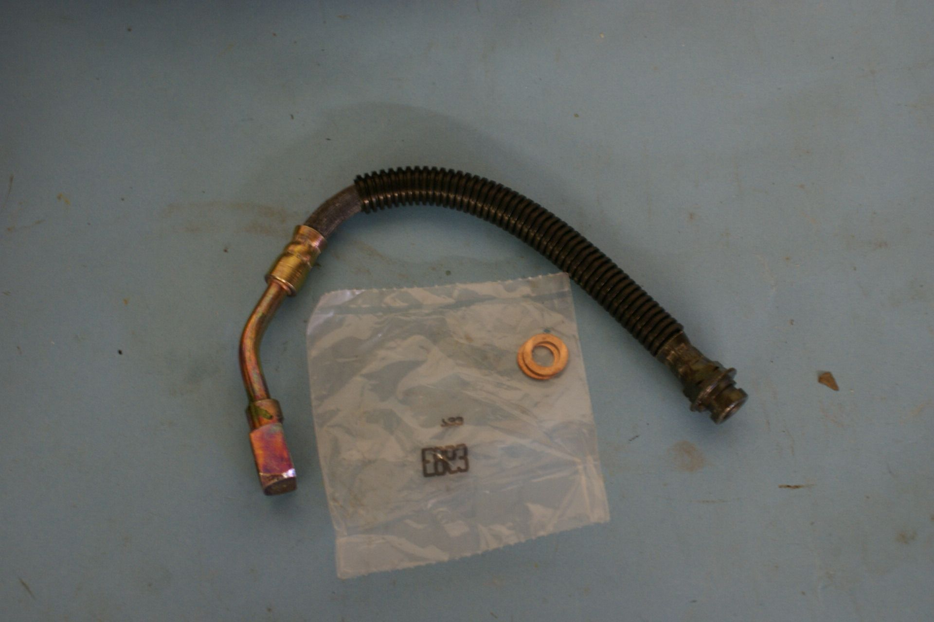 hight resolution of 1998 1992 c4 chevrolet corvette brake hydraulic pg hose rear right new box c