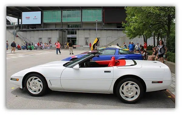 Ed, as his Corvette scored 99.5 out of 100, and received a Bloomington Gold Award.