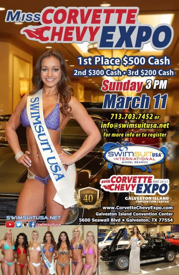 Swimsuit Contest at the Corvette Chevy Expo