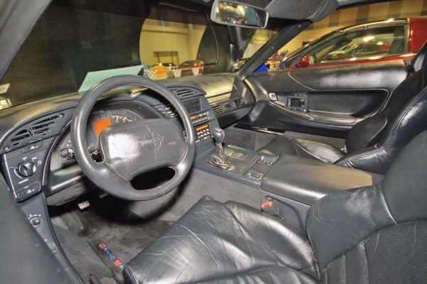There were two Interior color choices for the 1996 Corvette Grand Sport.  It was limited to all black, or a special Torch Red and Black combination.