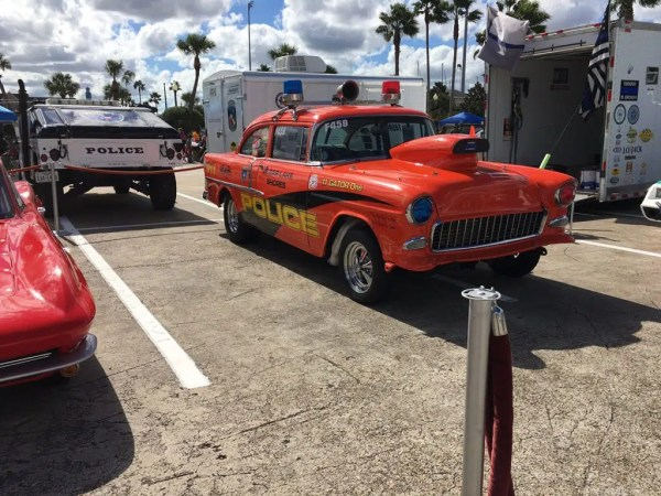 Tropical Impression Racing Team of the Galveston County Sheriff's Office will be at the Corvette Chevy Expo held at the Galveston Island Convention Center March 9 & 10, 2019.  The team is an affiliation with Beat The Heat. The vehicles are used to educate our youth about a number of areas of concern such as Drug Abuse, Drinking and Driving, Street Racing, Texting and Driving and Staying in School.