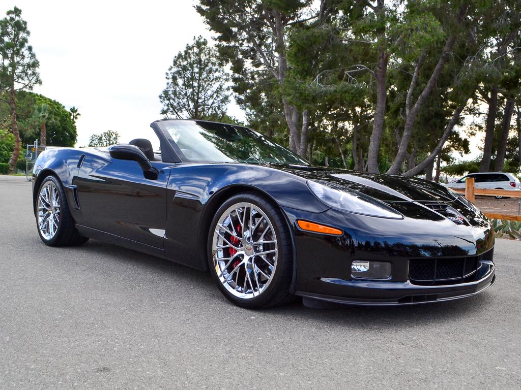 Price Reduction! 2013 Black Chevrolet Corvette Convertible