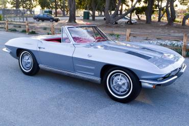 1963 Sebring Silver Corvette Convertible