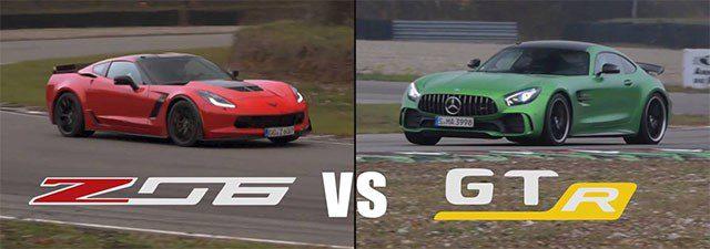 corvette vs mercedes amg