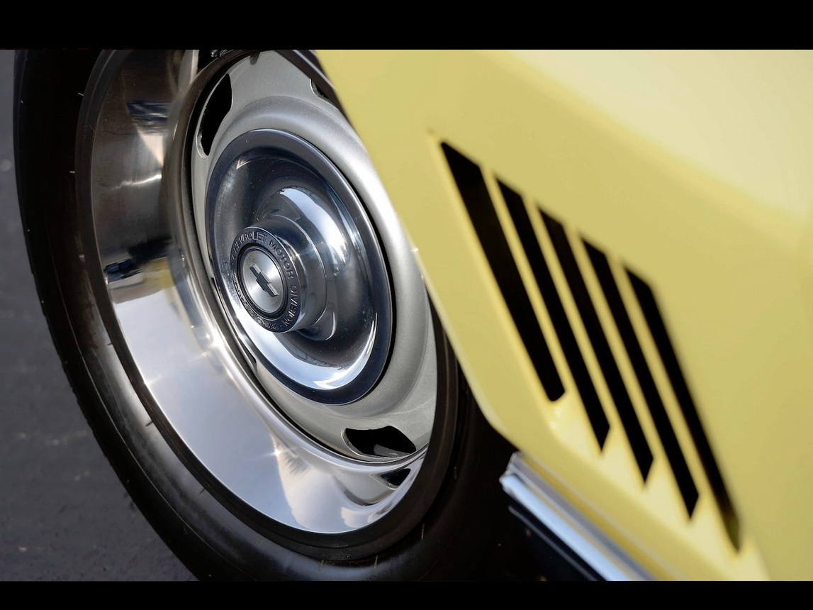 1967 yellow corvette l88 16