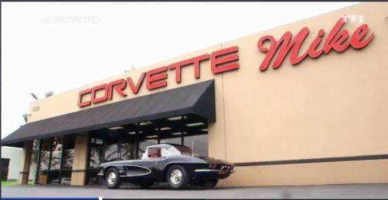french tv corvette mike