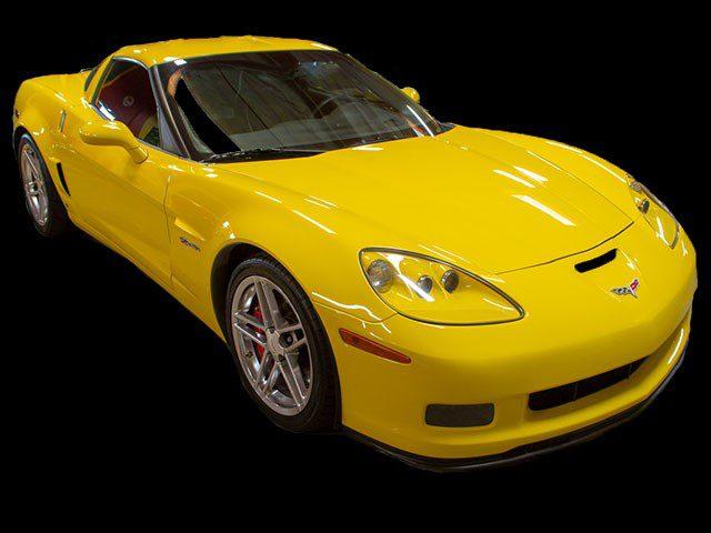 2007 Yellow Zo6