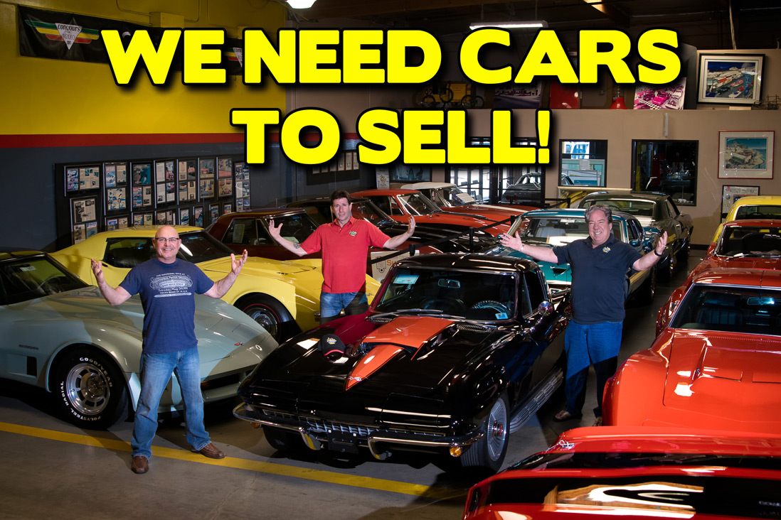Corvette Mike Used Corvettes Wanted