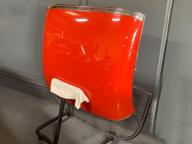 Corvette Parts Roman Red Hardtop