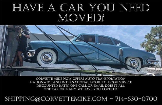 Corvette Shipping