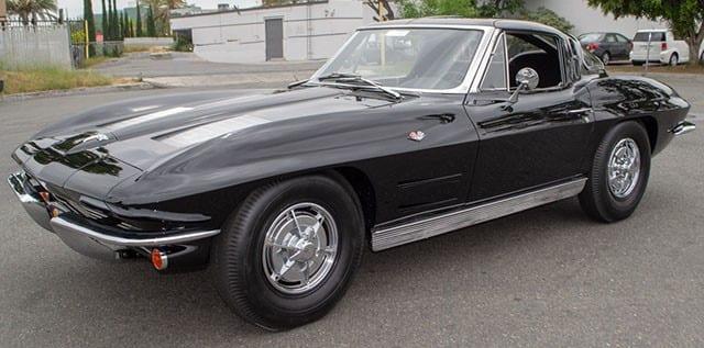 1963 Black Corvette
