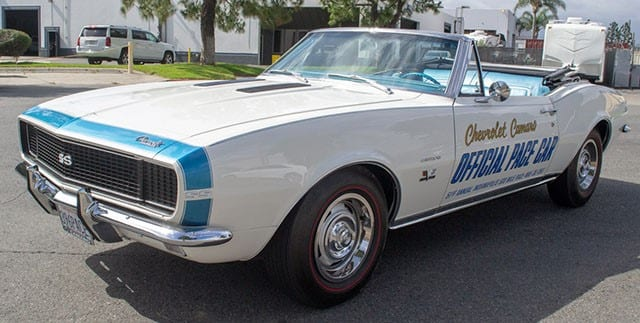 1967 Camaro Indy Pace Car