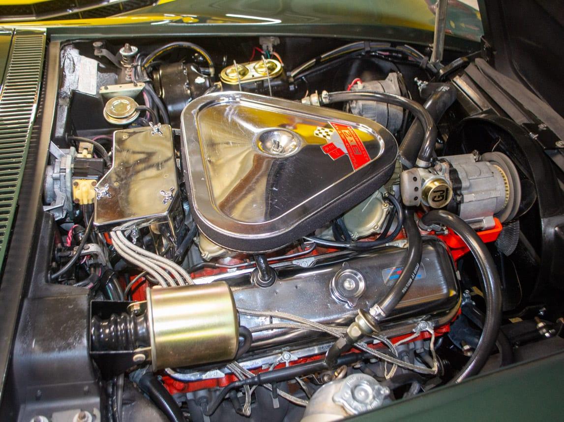 1969 green corvette l71 coupe 0202