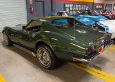 1969 green corvette l71 coupe 0216