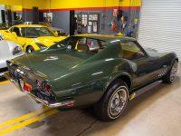 1969 green corvette l71 coupe 0218