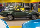 1969 green corvette l71 coupe 0219