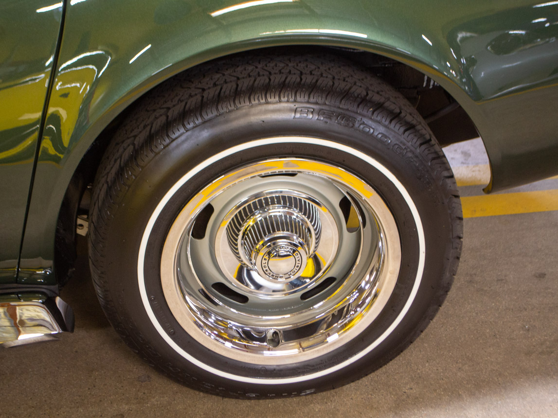 1969 green corvette l71 coupe 0221