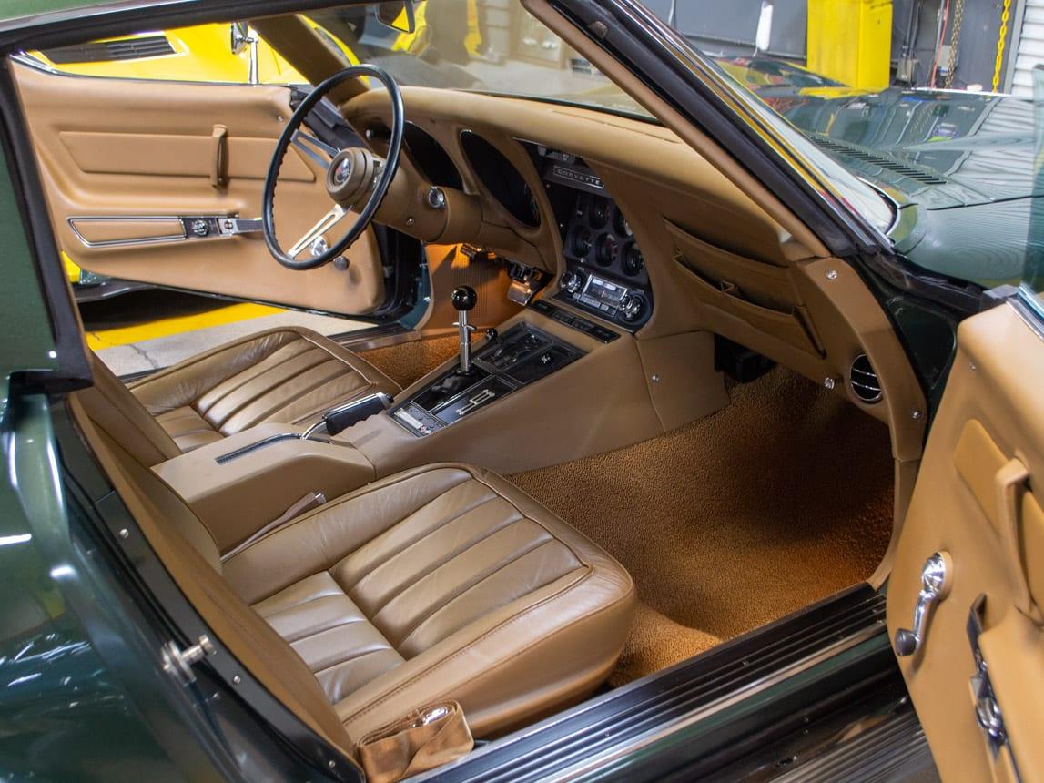 1969 green corvette l71 coupe 0226