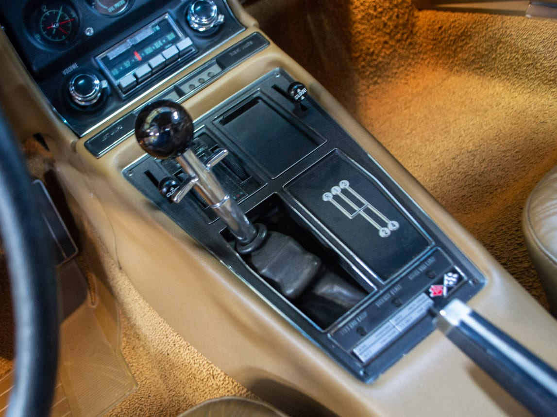 1969 green corvette l71 coupe 0237