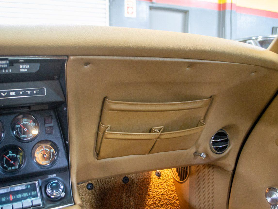 1969 green corvette l71 coupe 0238